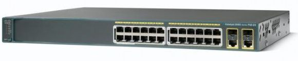 Cisco Catalyst 2960-X Series switch (front)