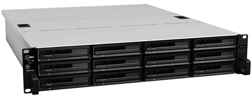 Synology RackStation RS3614xs/RS3614RPxs (front)