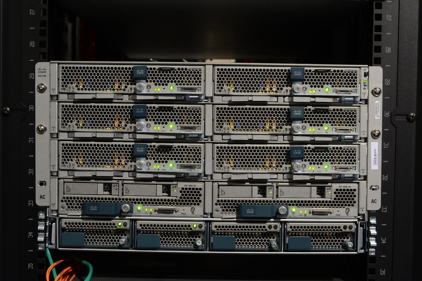 Cisco Small Business 500 Series Stackable Managed Switches (in rack)