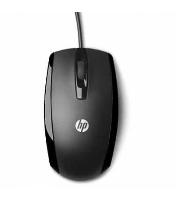 HP ACC: X500 Wired Mouse Black (E5E76AA#ABB)