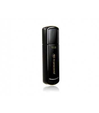 Transcend JetFlash 350 USB flash drive 16 GB USB Type-A 2.0 Zwart (TS16GJF350)