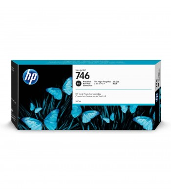 HP 746 inktcartridge Zwart (P2V82A)