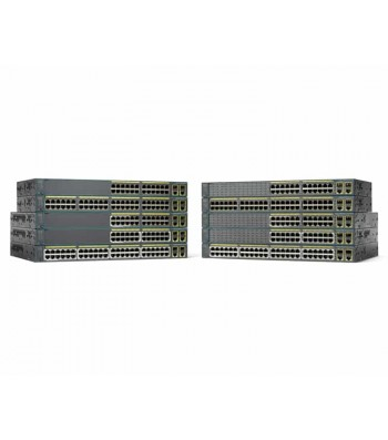 Cisco Catalyst 2960-Plus 48 poorten Fast Ethernet PoE Managed netwerk switch (WS-C2960+48PST-L)