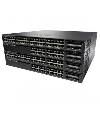 Cisco Catalyst WS-C3650-24TS-S netwerk-switch Managed L3 Gigabit Ethernet (10/100/1000) Zwart 1U (WS-C3650-24TS-S)