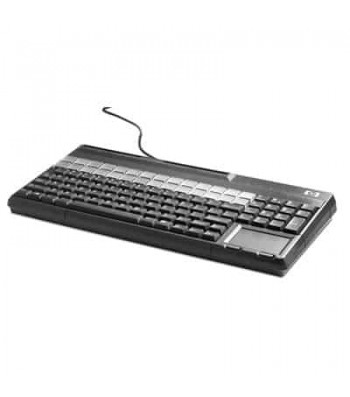 HP USB POS Keyboard with Magnetic Stripe Reader toetsenbord QWERTY Zwart (FK218AA#ABB)