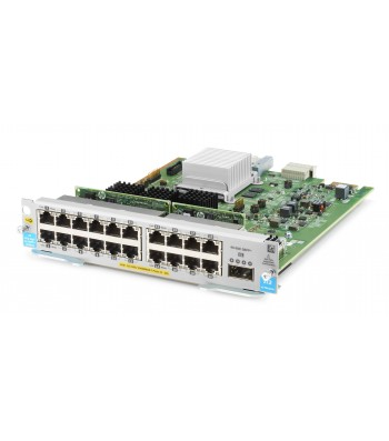 Hewlett Packard Enterprise 20-port 10/100/1000BASE-T PoE+ MACsec / 1-port 40GbE QSFP+ v3 zl2 network switch module Gigabit Ethernet (J9992A)