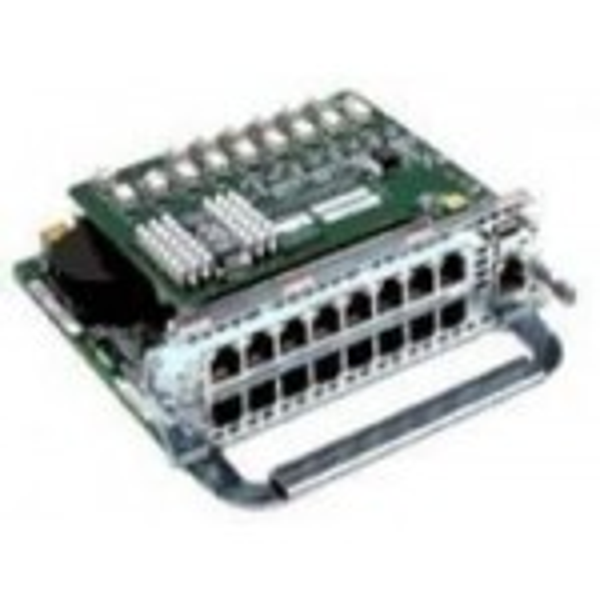 Cisco 16-Port Switch Network Module switchcomponent(NM-16ESW)
