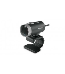 Microsoft LifeCam Cinema webcam 1 MP 1280 x 720 Pixels USB 2.0 Zwart, Zilver