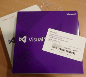 Microsoft Visual Studio 2013 Professional unwrapped