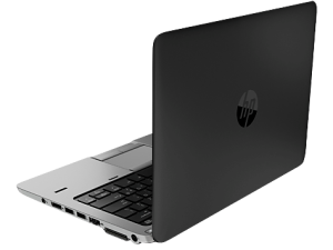 HP EliteBook 840 G1 side/back (open)