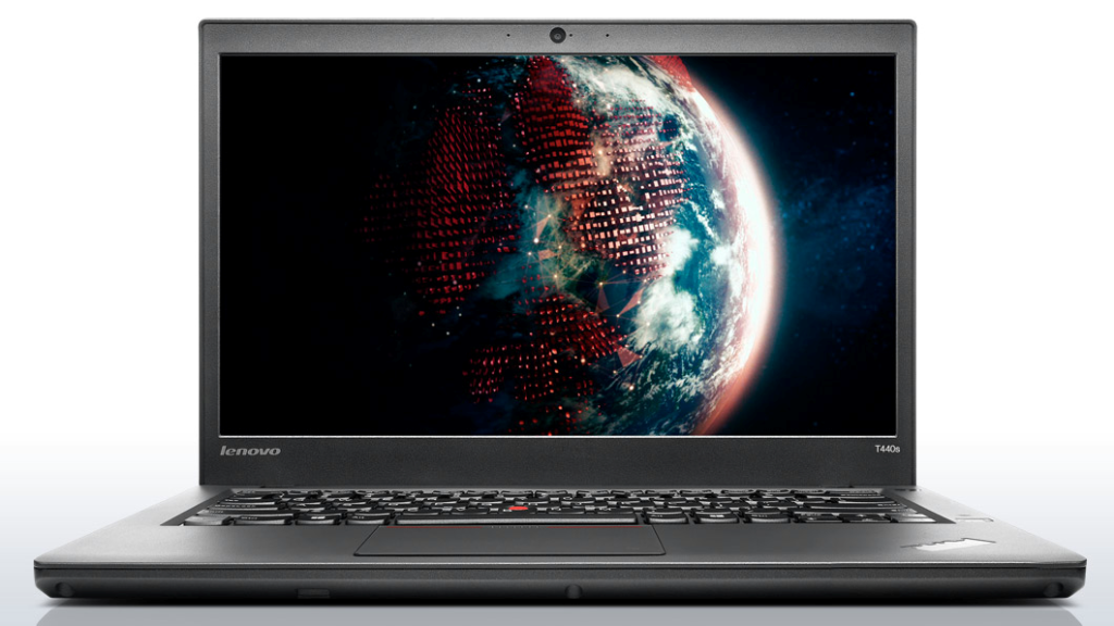 Lenovo Thinkpad T440s front (open)