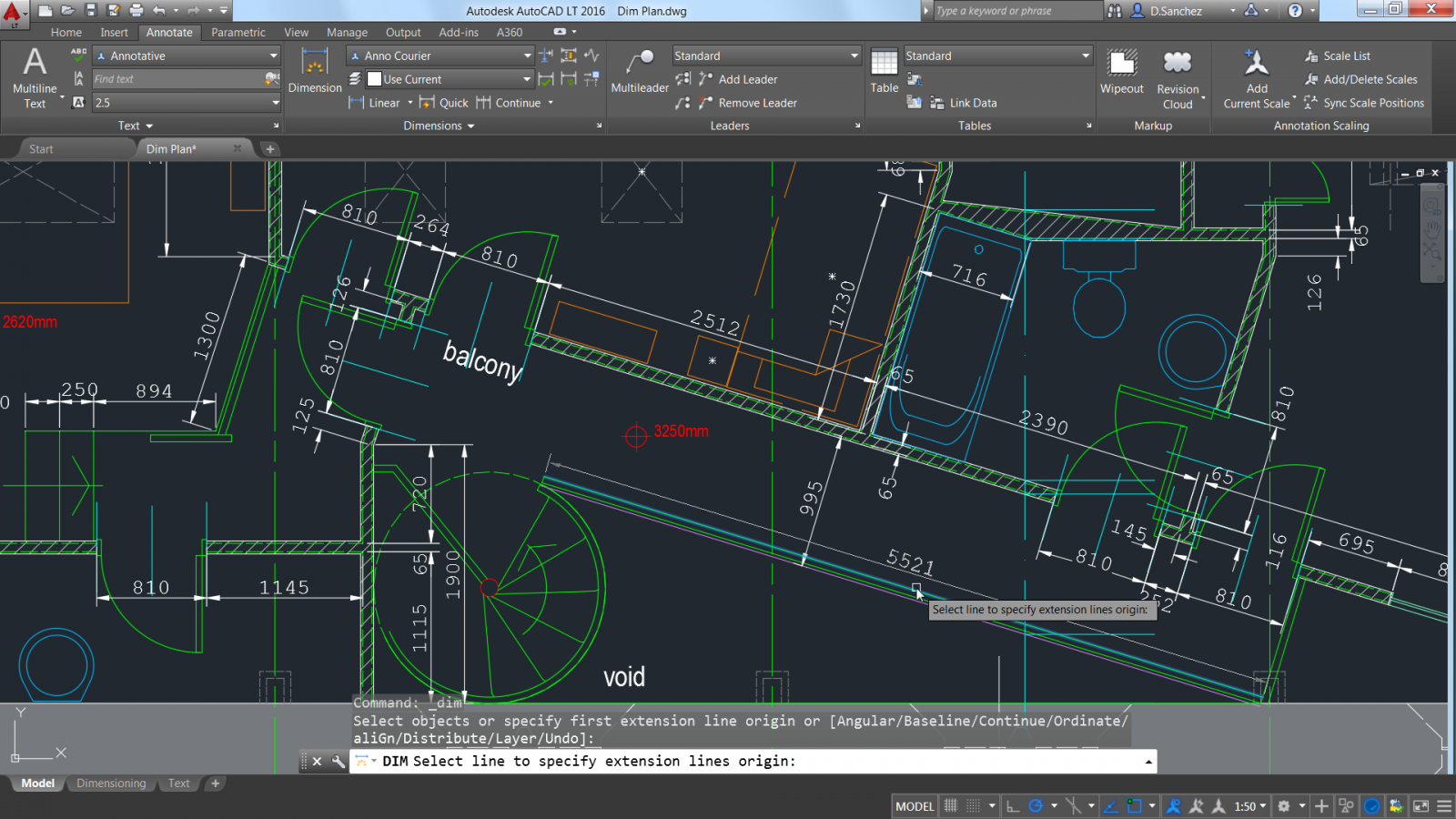 AutoCAD LT 2016 screenshot