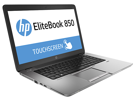 HP EliteBook 850 G2 side/front (open)