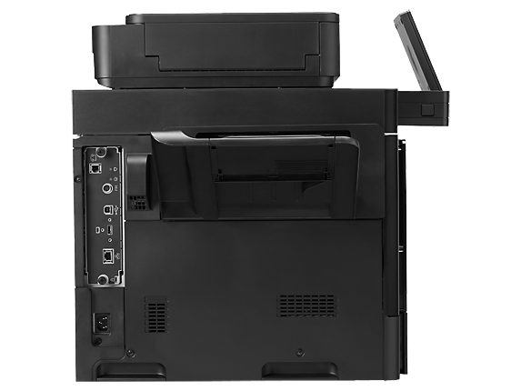 HP Color LaserJet Enterprise MFP M680 (rear)