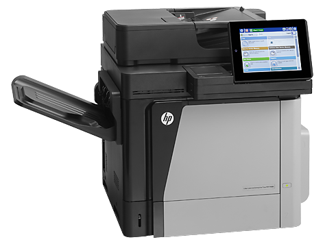 HP Color LaserJet Enterprise MFP M680DN (front)