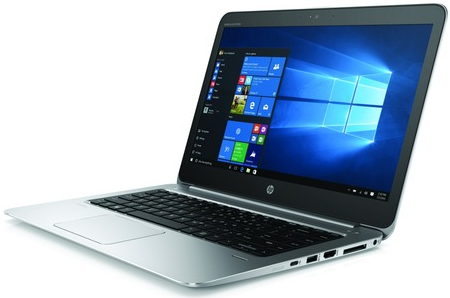 HP EliteBook Folio 1040 G3 (front, open)