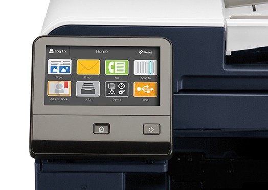 Xerox WorkCentre 6515 display