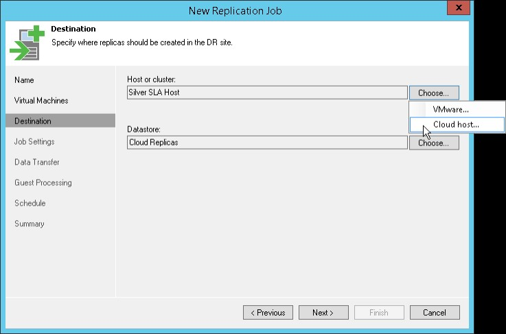Veeam Backup & Replication (replicatietaak)